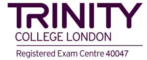 Centro examinador oficial Trinity College London